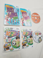 Nintendo Wii Game Lot - Just Dance Kids & Family Party 30 Great Games - *TESTED*