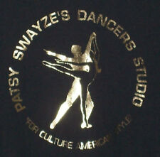 Patrick SWAZE Mom Patsy Dancer's Studio SWEATSHIRT Adult Medium Black & Gold