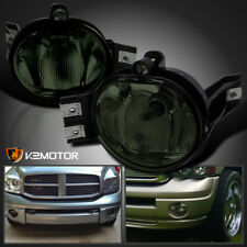 2002-2008 Dodge Ram 1500 2500 3500 Pickup Smoke Bumper Driving Fog Lights Kit