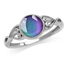 Women's Temperature Color Changing Heart Shaped Mood Ring Creative Ring