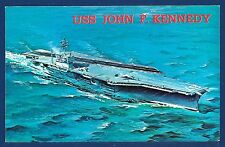 USS JOHN F. KENNEDY CV-67 Aircraft Carrier