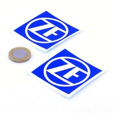 ZF Gearbox Stickers Car Racing Decals Vinyl 50mm x2 JDM Tuning Race Car