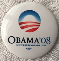 Official 2008 Election Campaign Button BARACK OBAMA Pinback Pin JOE BIDEN 2020