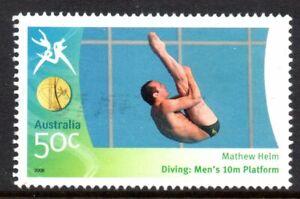 Australia 2006 50c Gold Medallists-Matthew Helm Used