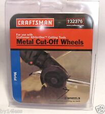Craftsman 9-32376 Metal 3-1/2in Cut Off Wheels 2-Pack