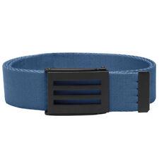 Cinturones de hombre en color principal azul de poliéster