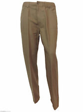 Marks and Spencer Pleated Mid Rise Trousers for Men