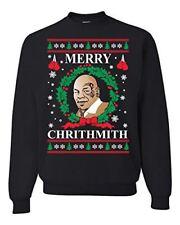 Merry Chrithmith Mike Tyson Ugly Christmas Sweater Funny Unisex Humor Sweatshirt