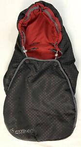 Maxi Cosi Car Seat Footmuff Cosytoes Cabriofix Baby Black Red Genuine Maxicosi