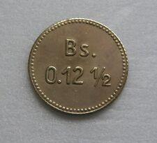Venezuela Coin Leper 0.12 Bolivares 12 1/2 Cents Bs 1939 Providence Island