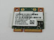 HP Combination 802.11a/b/g/n WLAN + Bluetooth 4.0 interface card 697316-001