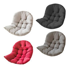 Thickened Egg Chair Cushions Garden Cradle Pads for Patio No Swing Chair