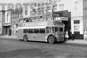 35mm Negative Wilts & Dorset Bristol Lodekka ECW 618 NHR845 Swindon 1961