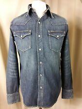 "BNWT Polo Ralph Lauren Western  Blue Fitted Shirt Vivienne Wash C38"" RRP £140"