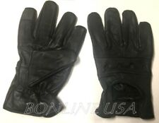 Men's Lambskin Leather Driving Gloves Motorcycle Unlined Touch Screen Gloves