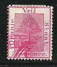 Album Treasures Orange River Colony Scott # 8  6p  Orange Tree  VF Used