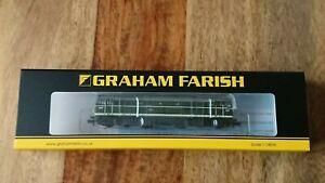 Graham Farish N Gauge 371-111A Class 31/1 D5616 BR Green Small Yellow Panels NEW