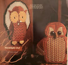 Owl air freshener cover for plastic canvas pattern only