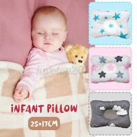 Infant Newborn Baby Ergonomic Pillow Head Support Prevents Flat Head Anti