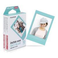 Fujifilm Instax Mini Instant Sky Blue Film, 10 Sheets