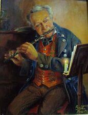 Anton Kaulbach músico pub flauta instrumento historicismo señor alcohólico