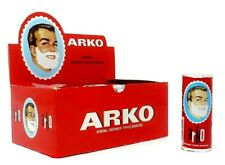 ARKO SHAVING SOAP CREAMY LATHER MOISTURISING TURKISH SOAP STICKS 75GR 1/2/3/6/12