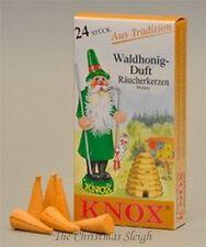 KNOX German Incense for Smoker Rauchermann Raucherkerzen Honey Scent 2 BOXES