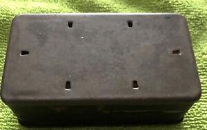 Vintage Gillette New Standard Razor Case (Only)
