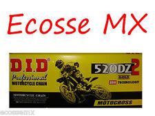 KTM DID DZ2 ORO 520 x 120L Cadena de alto rendimiento SXF250 sxf350 SXF450