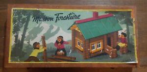 Jouet Vintage Maison forestière JeuJura
