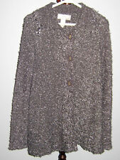 New LISA Women's Gray Delicately Knitted Sweater