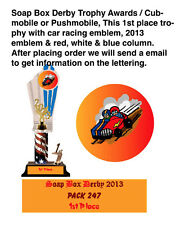 Soap Box Derby Trophy Awards / Cubmobile / Pushmobile
