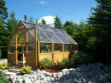 How To Build 9'x16' Cedar Framed Greenhouse Plans w/online building assistance.