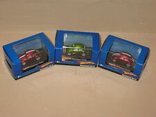 Hot Wheels Volkswagen Beetle VW Bug Lot of 3 Real Rider HO 1:87 Scale Variation