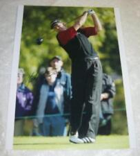 Retief Goosen 12x16 Firmado Golf Foto aftal/uacc