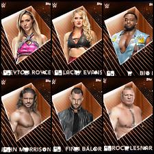 OBLIVION DROP 2 BRONZE 6 CARD SET 2020 Topps WWE SLAM DIGITAL TRADER LACEY ROYCE