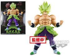 "Dragonball Super Movie ~ 9"" SUPER SAIYAN BROLY FULL POWER CHOKOKU BUYUDEN STATUE"