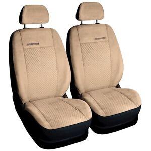 VW Golf 4 Sitzbezüge 2 Front Schonbezüge 115XD Velours Beige Prestige