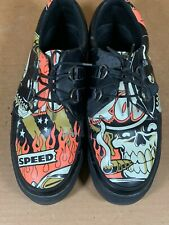 T.U.K. Jer Aker Creeper Hot Rod Style Shoes Sneakers Limited Edition Mens Sz 12