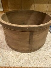 Antique Primative Handmade WOOD Box / Bowl PRIMITIVE COUNTRY COTTAGE FARM HOUSE