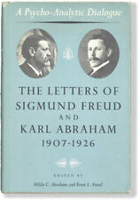LETTERS OF SIGMUND FREUD & KARL ABRAHAM 1907-1926 1st ed/dj 1963 Basic Books NY