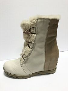 Sorel Joan Of Arctic Wedge 2 Lux Womens Winter Bootie Size 10 M