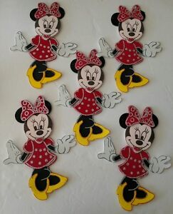 10pcs Minnie Mouse Foamy Decoration For Birthdays, Baby Shower Candy Table