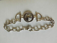 bracelet argenté cheval