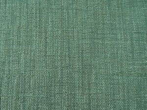 DESIGNER PATTERNED CHENILLE GREEN SOLID UPHOLSTERY FABRIC $14.99/YD BTY 489FS