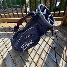 Titleist Golf Bag. Stand Bag. Used. Dual Straps.