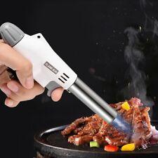Chalumeau de Cuisine Professionnel Culinaire Torche Réglable Pour Cuisson BBQ