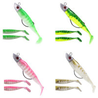 Soft Bait Fishing Lures Diy Lead Head Jig Fish Sea Bass Lure Fishing Tackle B01