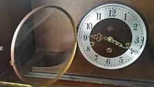 Elgin Made in West Germany Mantle Clock Welby 1050-020 Movement & Chimes 2 Jewel