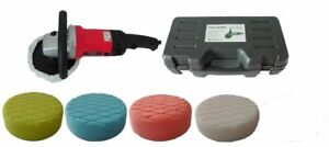 Polisher with 200mm Foam Pad Buffing Kit for Paint and Fibreglass